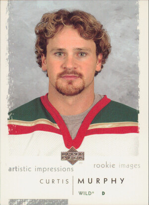 2002-03 ARTISTIC IMPRESSIONS - CURTIS MURPHY #128 ROOKIE IMAGES