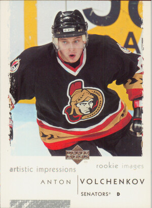 2002-03 ARTISTIC IMPRESSIONS - ANTON VOLCHENKOV #103 ROOKIE IMAGES