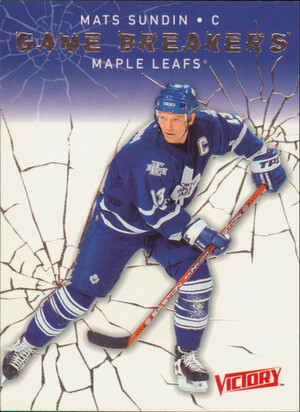 2003-04 VICTORY - MATS SUNDIN #GB33 GAME BREAKERS