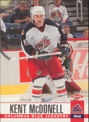 2003-04 PACIFIC - KENT MCDONELL #95 ROOKIE