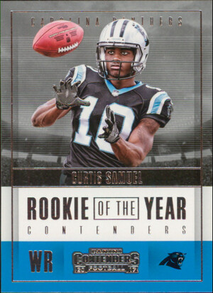 2017 Contenders - Curtis Samuel Rookie of the Year Contenders #RY-23