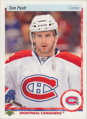 2010-11 UPPER DECK - TOM PYATT #99 20TH ANNIVERSARY