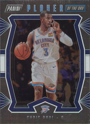 2019-20 Player of the Day - Chris Paul Silver #10