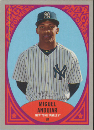 2019 Topps Heritage - Miguel Andujar New Age Performers #NAP-4