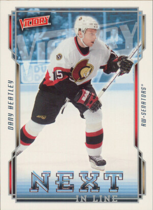 2006-07 VICTORY - DANY HEATLEY #NL36 NEXT IN LINE