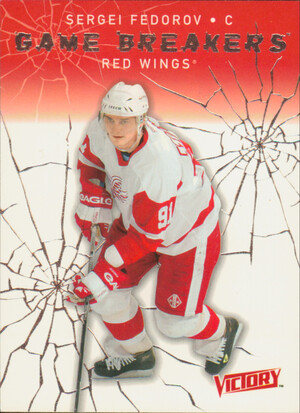 2003-04 VICTORY - SERGEI FEDOROV #GB43 GAME BREAKERS
