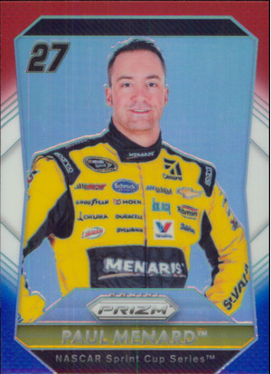 2016 Prizm - Paul Menard Red White & Blue #27