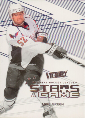 2010-11 VICTORY - MIKE GREEN #SOG-MG STARS OF THE GAME