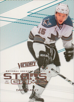 2010-11 VICTORY - DANY HEATLEY #SOG-DH STARS OF THE GAME