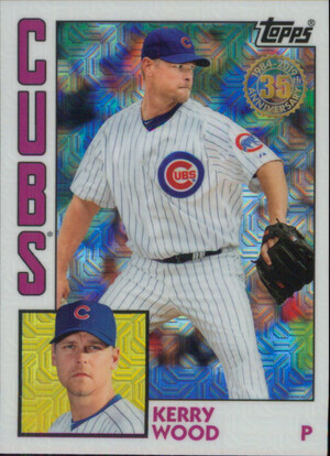 2019 Topps Update - Kerry Wood Silver Pack 1984 Topps Chrome #T84U-11