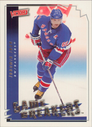 2006-07 VICTORY - JAROMIR JAGR #GB30 GAME BREAKERS