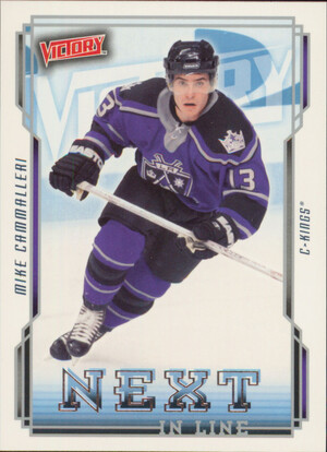 2006-07 VICTORY - MIKE CAMMALLERI #NL26 NEXT IN LINE