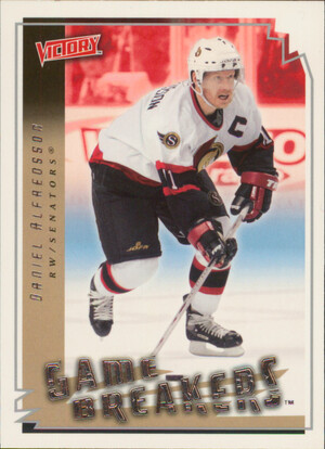 2006-07 VICTORY - DANIEL ALFREDSSON #GB34 GAME BREAKERS