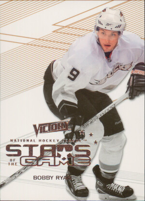 2010-11 VICTORY - BOBBY RYAN #SOG-BR STARS OF THE GAME