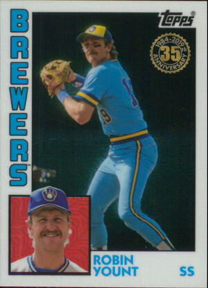 2019 Topps - Robin Yount Silver Pack 1984 Topps #T84-24