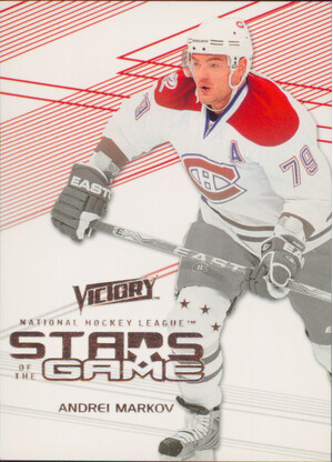 2010-11 VICTORY - ANDREI MARKOV #SOG-AM STARS OF THE GAME
