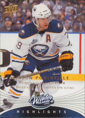 2008-09 UPPER DECK - JASON POMINVILLE #WC10 WINTER CLASSIC