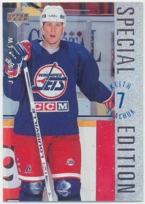 1995-96 UPPER DECK - KEITH TKACHUK #SE88 SPECIAL EDITION