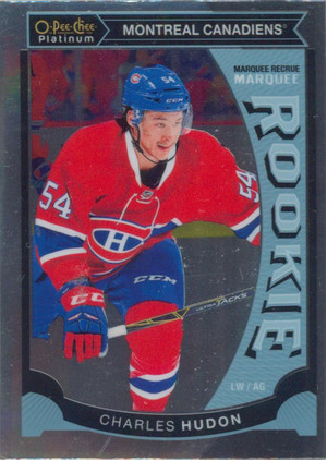 2015-16 OPC PLATINUM - CHARLES HUDON #M46 MARQUEE ROOKIE