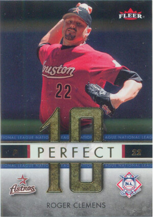 2007 Fleer - Roger Clemens Perfect 10 National League #PN-RC
